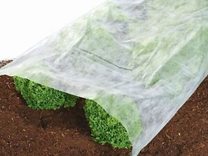 Gartenvlies ca. L 10 x B 1,5 m 15 m² Licht luft wasserdurchlässig NEU OVP