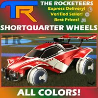 [PC] Rocket League Every Shortquarter Very Rare Wheels Grey Crimson etc.