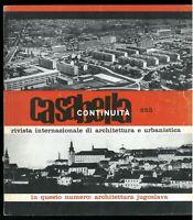 Architettura  Casabella Continuità n. 255 settembre 1961 Direttore Rogers