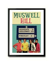 Muswell Hill Kinks Art Poster Print
