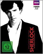 SHERLOCK-STAFFEL 1-3 (BOXSET,M.BONUS) 7 DVD NEU