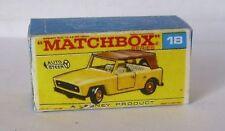 Repro Box Matchbox 1:75 Nr.18 Field Car