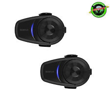 Sena 10S Motorcycle 4.1 Bluetooth Intercom Dual Pack UK Stock & Warranty