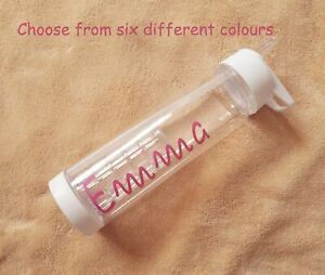 Personalised Water Bottle Love Custom Island Summer Customised Gift Present