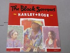 "The Black Sorrows:   Harley + Rose   UK  7""   NM"