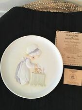 Precious Moments Thanksgiving Collector'S Plate Love Thy Neighbor 1983 #08927