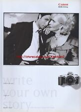Canon EOS 500N Camera 1997 Magazine Advert #947