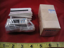 Festo SFE3-F500-L-W18-2PB-K1 Miniature Flow Sensor 538523 12-24v dc 5-501/min