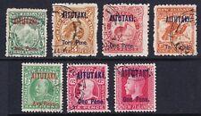 Aitutaki (Cook Islands) fine used KGV stamps
