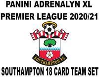 Adrenalyn XL PREMIER LEAGUE 20//21 FULL TEAM BASE SET SOUTHAMPTON
