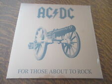 33 tours AC/DC for those about to rock