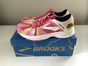 NEW Brooks Launch 6 Run Happy Limited Edition Women's Running Shoes - Sz 8