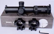 Vector Optics Artemis 1-8x26 FFP Scope Red Illuminated VTC-1 Reticule 35mm Tube