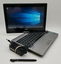 "Fujitsu T734 Touchscreen 12.5"" Laptop Intel i5-4200m 2.50GHz 8GB RAM 500GB HDD"