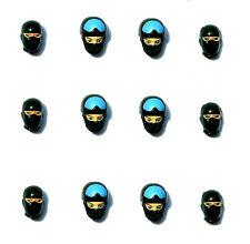 GI Star Action Figure 12 Masked SWAT Heads Lot Limited Custom Wars Joe