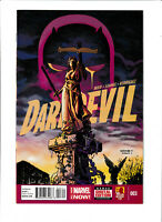 Daredevil Marvel Comics #3 NM- 9.2 The Man Without Fear 2014
