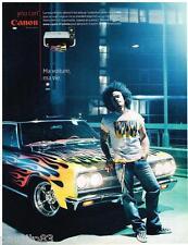 PUBLICITE ADVERTISING 095  2007  CANON  imprimante copieur PIXMA MP510 C. KNIGHT
