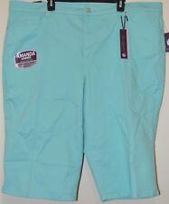 Gloria Vanderbilt Women's Plus Aqua Slimming Embellished Skimmer Pants Size 24W