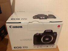 Canon EOS 77D 77 D Body Gehäuse Neu, unbenutzt und OVP Beschreibung lesen