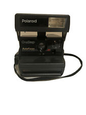 Vintage Polaroid One Step SE 600 Film Camera Auto Focus Digital Exposure System