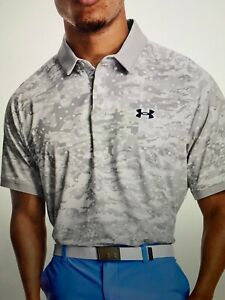 Under Armour Polo Shirt Men's UA Iso Chill Polo, Golf, NWT Large $75.00!!
