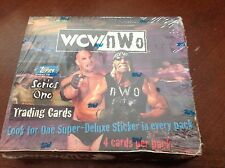 1998 WCW/NWO Topps Series One Wrestling Trading Cards Sealed Box