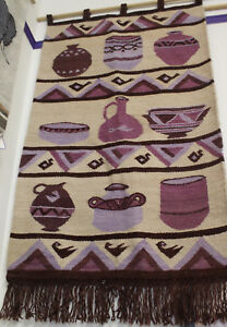 African Tapestry - Wall Hanging - Pots
