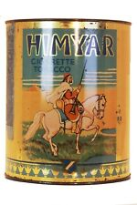 "Rare circa WWI ""Himyar"" litho tobacco tin in good condition, top fair condition"