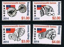 Samoa - Commonwealth Games Postage Stamp Sports Issue