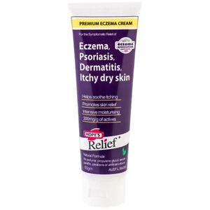 Hope's Relief Premium Eczema Cream 60g Eczema Psoriasis Dermatitis Hopes Relief