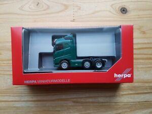 Herpa 305792-005 - 1/87 Volvo Fh Gl 6x2 Zgm Con Soporte de la Luz - Verde Musgo