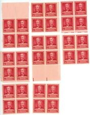 1940 2c US Postage Stamps Scott 875 Dr Crawford W. Long Lot of 32