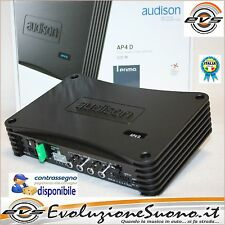 Audison AP4D Ap 4 D Amplificatore Digitale 4 canali 130Wx4 Rms 2ohm NUOVO GAR IT