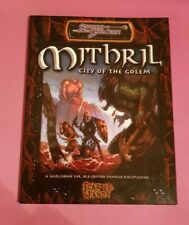 MITHRIL CITY OF THE GOLEM SCARRED LANDS DND D&D 3RD RPG ROLEPLAYING D20 OGL 3.5