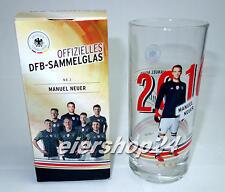 Original DFB SAMMELGLAS Manuel Neuer FUSSBALL EM 2016 Rewe neu & unbenutzt!