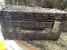 wicker picnic basket , hamper basket , storage basket, vintage style basket