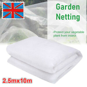 10M Garden Vegetable Plant Protection Netting Fine Mesh Insect Protection Net UK