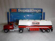 "Vintage Matchbox Superking k-16 Petrol Tanker ""TEXACO"" Red Truck / Lorry ..Boxed"