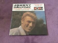 CD EP Single JOHNNY HALLYDAY - souvenirs souvenirs  NEUF