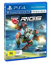 RIGS Mechanized Combat League VR Virtual Reality Game For Sony Playstation 4 PS4