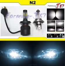 LED Kit N2 36W 9003 HB2 H4 6000K White One Bulb Head Light Replace Motorcycle