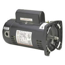 Pump Motor,3/4 HP,3450,115/230 V,48Y,ODP QC1072