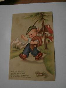 Cartolina illustrata Maria Pia Franzoni Tomba VG FP 1943 alpino alpini