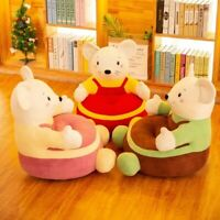 Creative Cartoon Mouse Sofa Learning Seats Soft Chair Sofa Baby Plush Toys Gifts