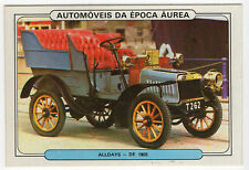1986 Portugese Pocket Calendar Featuring Vintage Car - Alldays & Onions 1905