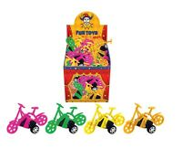 Pull Back Bicycle Drive Bike Car Tricycle Wheels Party Bag Filler Toy Reward Fun