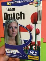 Learn Dutch:Eurotalk Interactive CD-Rom Language Course New+Sealed