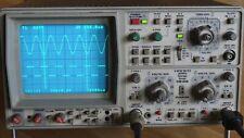HAMEG HM 408 incl. Tastkopf, Speicher Oszilloskop 40 MHz 2 Kanal, analog/digital