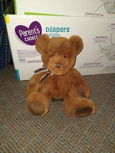Russ Berrie WESTIN Teddy Bear Copper Brown Plush Retired Stuffed Animal Toy