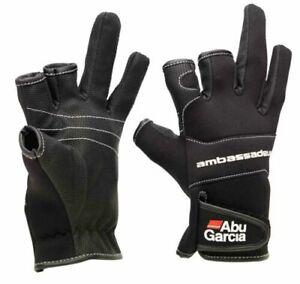 Abu Garcia New Stretch Neoprene Waterproof Gloves